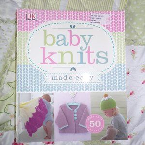 Baby Knits Made Easy 50 Project Knitting Book